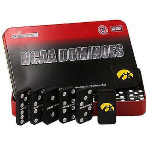 NCAA Licensed Team Domino Set in Metal Gift Tin Pick Your Team