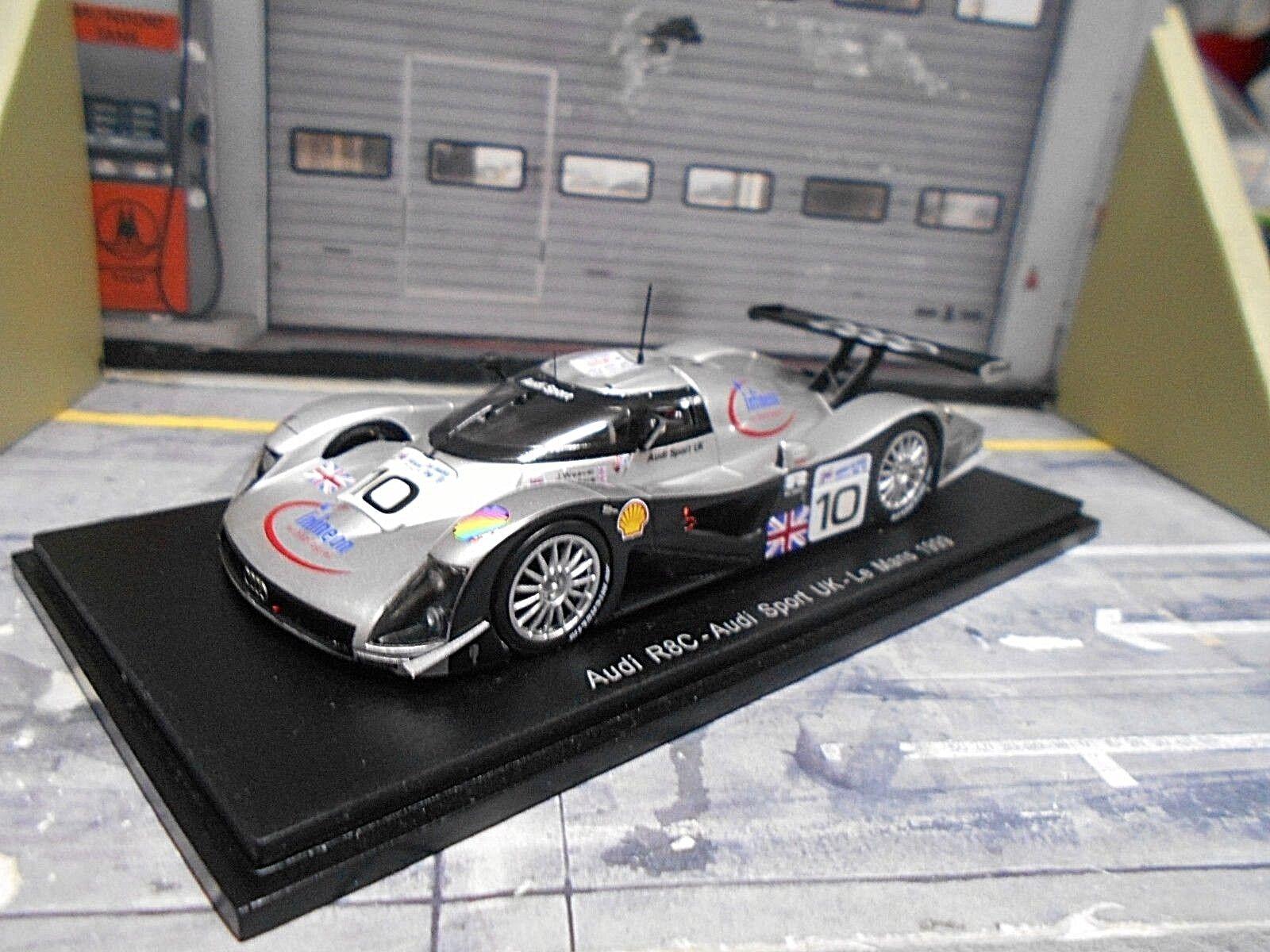 Audi r8c r8 C LE MANS 1999 UKi  10 Wallace Weaver McCarthy s'Spark 1 43
