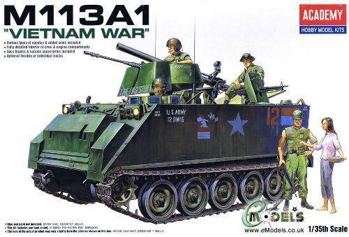 Academy 1 35 M113a1 A.p.c Vietnam Model Kit 13266