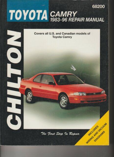 Chilton 68200 Toyota Camry 1983
