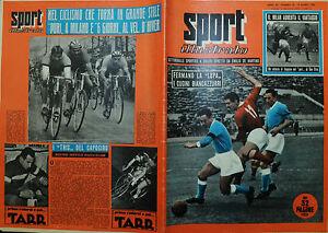 SPORT-ILLUSTRATO-N-10-10-MAR-1955-IL-MILAN-AUMENTA-IL-VANTAGGIO