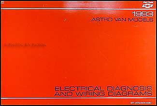 1993 Chevy Astro Van Wiring Diagram Manual 93 Chevrolet ...