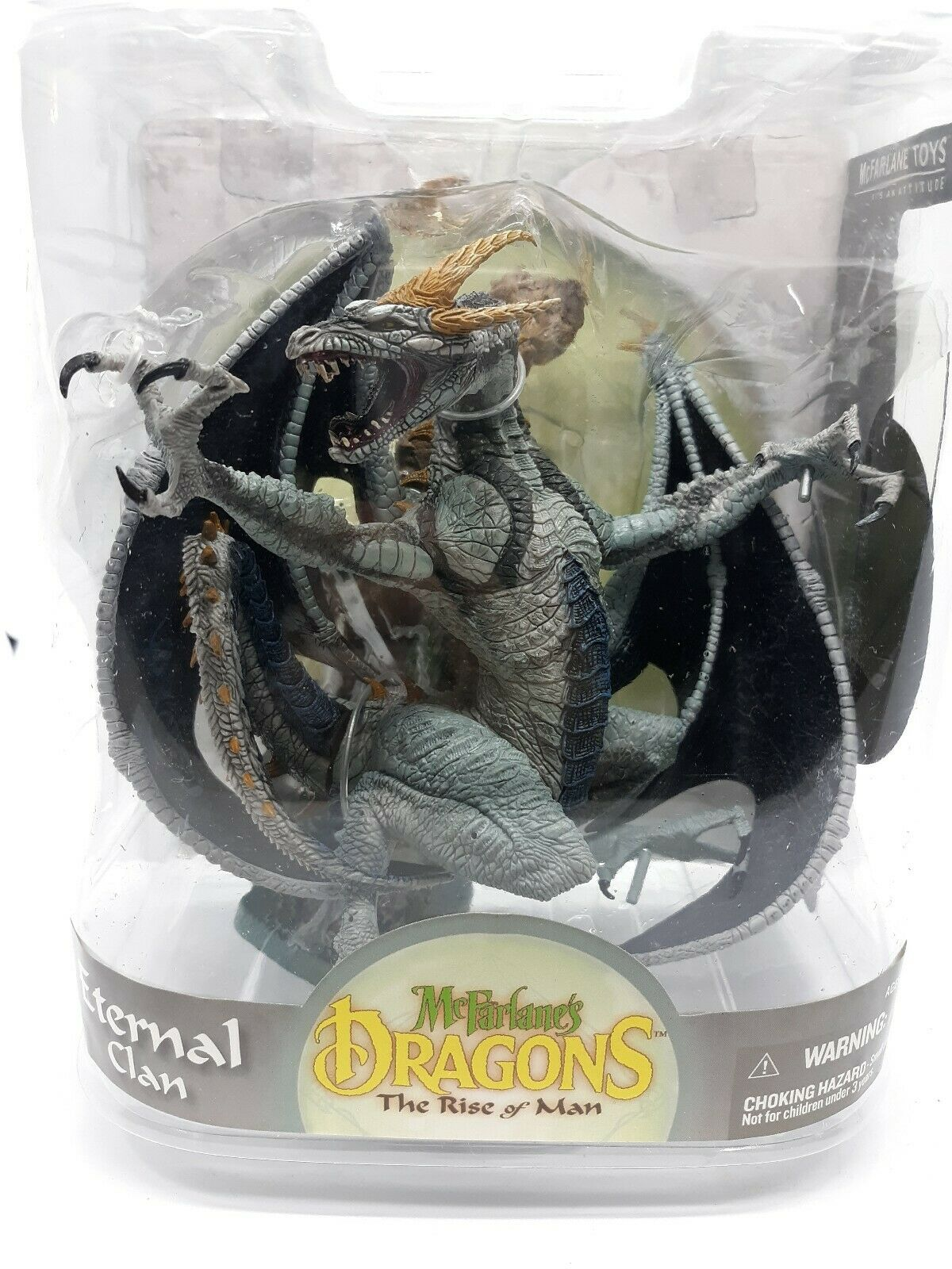 McFARLANE'S  DRAGONS S8 THE RISE OF uomo ETERNAL CLAN DRAGON cifra nuovo A26  l'intera rete più bassa