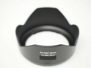 JJC 52mm Reversible Lens Hood for Pentax smc P-DA 18-55mm F3.5-5.6 Lens Replaces PH-RBA