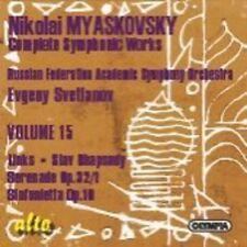 Evgeny Svetlanov - Links Op 65 / Slav Rhapsody Op 71 / Serenade No 1 [New CD]