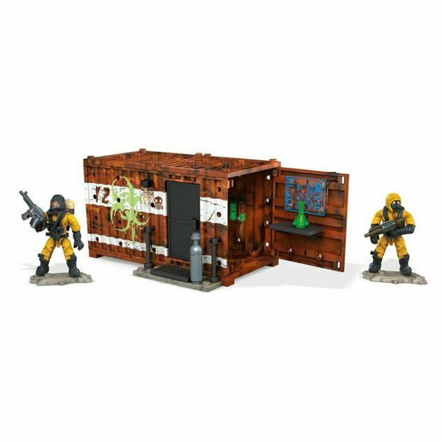 Mega Construx Call of Duty Hazmat Lab Armory Building Set BRAND NEW FMG04