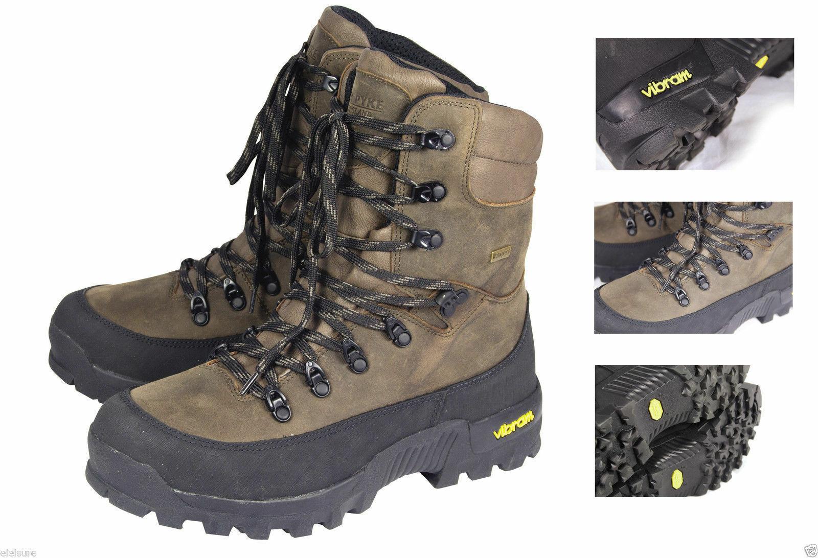botas Jack Pyke Cazadores De Cuero Impermeable Caza botas Soporte De Tobillo Alto Marca