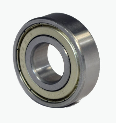 5206-ZZ Premium Shielded Double Row Angular Contact Ball Bearing 30x62x23.8mm