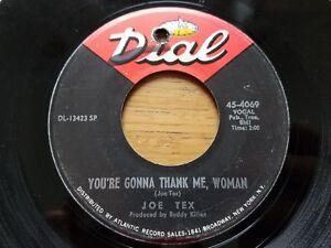 JOE-TEX-Men-Are-Gettin-039-Scarce-You-039-re-Gonna-Thank-Me-Woman-1968-FUNK-Dial-7-034