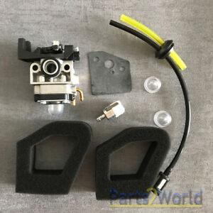 Carburetor-For-Husqvarna-324HDA-224L-324LDX-324RX-55X-Trimmer-Fuel-Air-filter