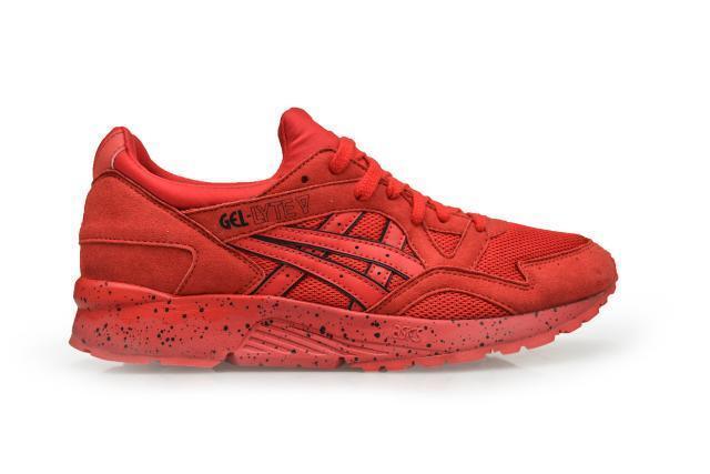 Homme Asics Asics Asics Gel-Lyte V-H60SQ2323-rouge baskets 4fd718