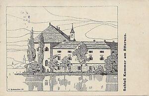 OO-Gruss-aus-Schloss-Kammer-am-Attersee-Salzkammergut-1922-T-Schmoller