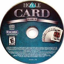 18 Hoyle Card Games + 50 Solitaire Versions PC Windows XP Vista 7 8 10 New CDROM