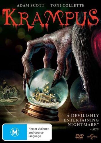 1 of 1 - Krampus (Dvd) Horror, Fantasy, Comedy  Adam Scott, Toni Collette, David Koechner