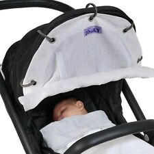 Dooky BREEZE - Universal Fit for Carriers, Strollers, Pushchairs - White