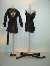 BARBIE JAZZ DIVA BLACK LINGERIE FASHION ENSEMBLE