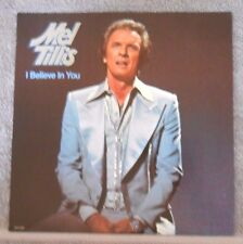 I Believe in You LP Album by Mel Tillis - Vinyl - 1978 MCA Records Record Label