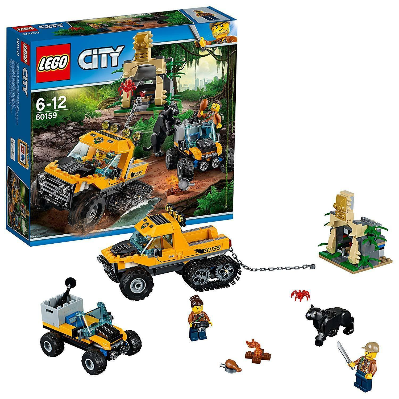 LEGO City 60159  Jungle Halftrack Mission Mission Mission - Brand New 2c597c