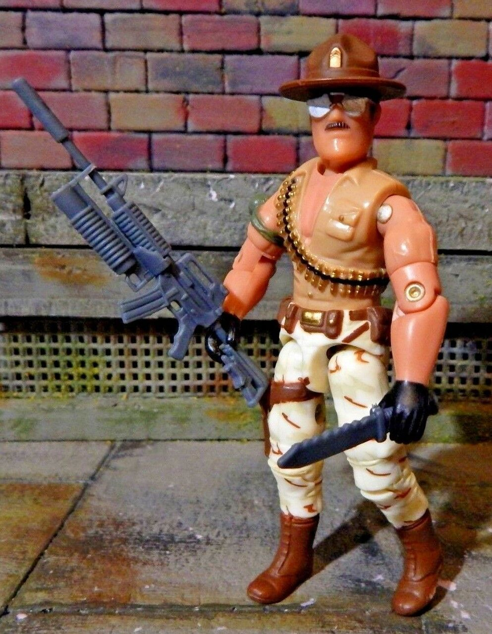 GI JOE   2006 SGT SLAUGHTER  CONVENTION JOECON  100% complete 1985 1986  meilleure mode
