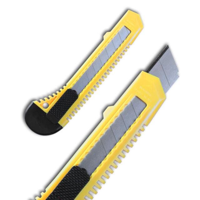 Restposten 72 Teppichmesser Cuttermesser / Cutter Messer mit 18mm Abbruchklinge