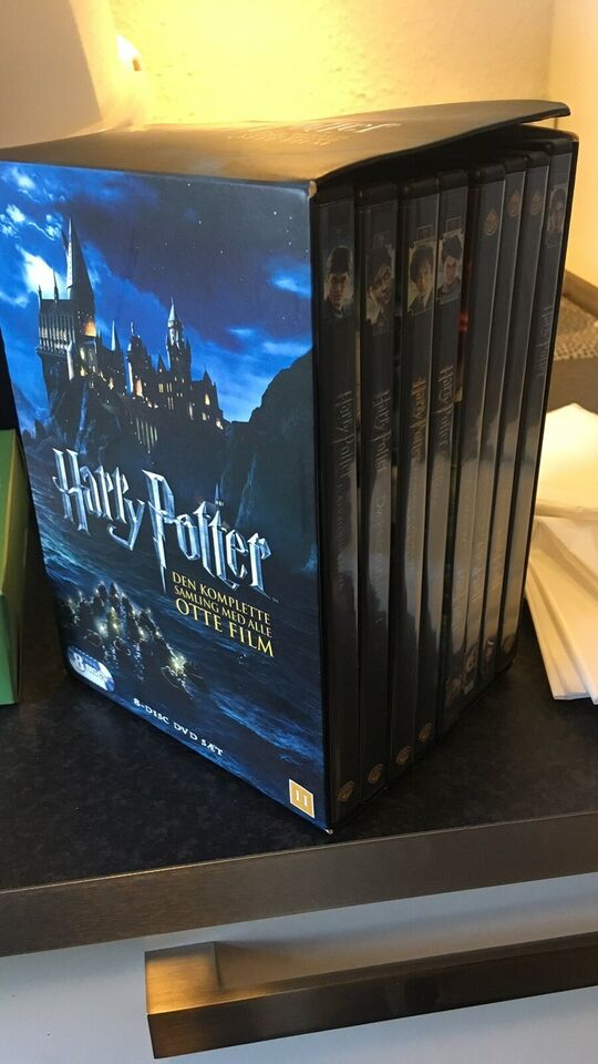 Harry Potter serien, DVD, eventyr