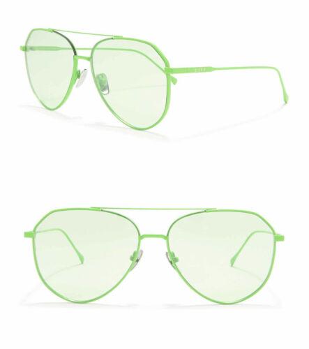 DIFF Eyewear Green//Green Dash 53mm Sunglasses//NG-NG16