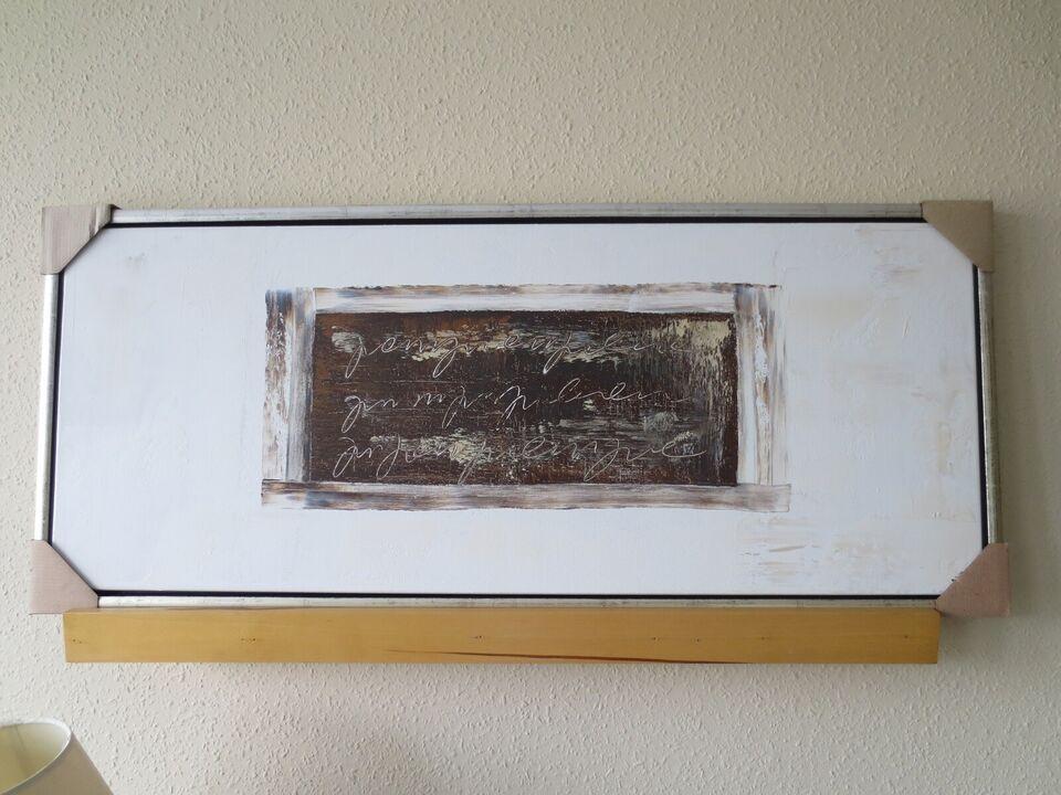 Akrylmaleri, ILVA, b: 108 h: 44