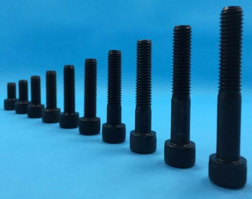 M1.6 M2 M2.5 Allen Key Cap Head Socket Screw Bolts High Tensile Grade 12.9