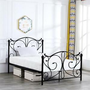 Metal Twin Size Bed Frame Platform