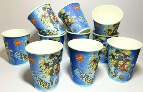 Beyblade Cups Beyblade Birthday Decorations Party Supplies Set of 10 cups