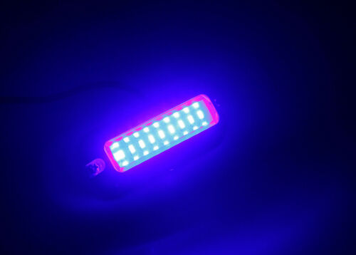 "Pactrade Marine  Boat Pontoon Blue 27 LED Underwater Light  S.S 316 3 3//4/"" L"