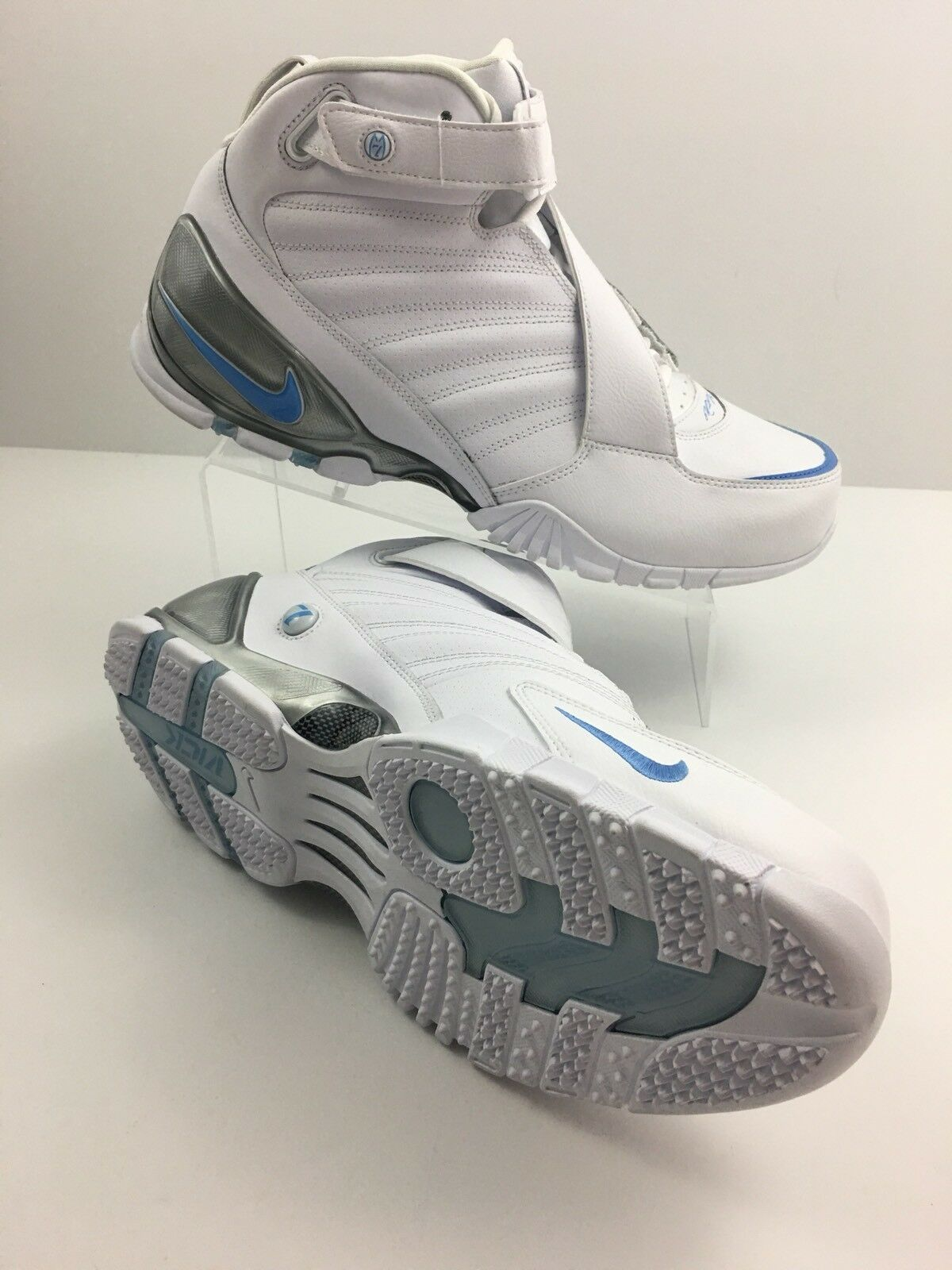 Nike Zoom Air Vick 3 III Trainer White University Blue Turf 832698-100 Comfortable Comfortable and good-looking
