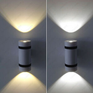 6w Led Cob Up Down Light Fixture Wall Sconces Lamp Canteen