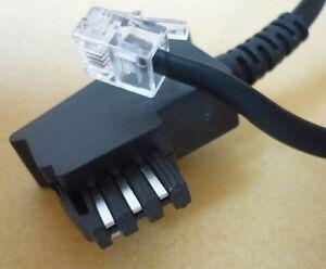 Telefonkabel-6m-TAE-F-Telefon-Anschlusskabel-Kabel-Router-Fritz-Box-TAE-F-RJ11