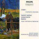 Lalo: Symphonie Espagnole; Saint-Sa‰ns, Chausson, Ravel: Music for violin & orchestra [Australia] (CD, Oct-1999, Philips)