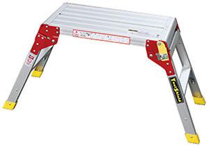 Échelle plateforme ladp aluminium-afficher le titre d`origine