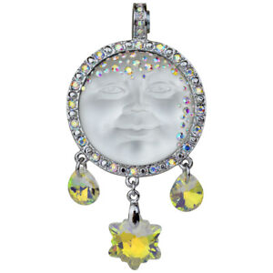 Kirks-Folly-Royal-Seaview-Moon-Goddess-Snowflake-Magnetic-Enhancer-Silvertone