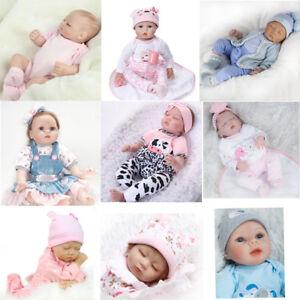 Realistic Reborn Silicone Baby Doll Floppy Lifelike Newborn Christmas Gift