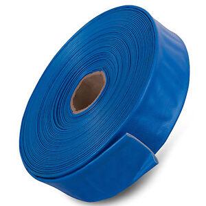 Manguera PVC Layflat Azul-Bomba de descarga de agua de riego-vendido por el medidor  </span>