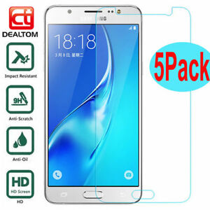 5X-Tempered-Glass-Screen-Protector-For-Samsung-Galaxy-J3-J5-J7-Pro-A3-A5-A8-F