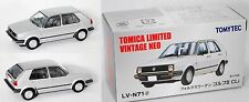 TOMICA LIMITED / TOMYTEC LV-N71d VW Golf II GLi (Typ 19E) silber 1:64