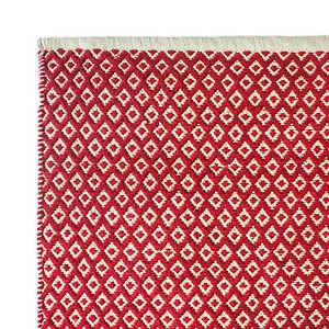 Hand Woven Rugs 100% Cotton - Diamond Design