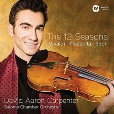 DAVID AARON/SALOMÉ CHAMBER ORCHESTRA CARPENTER - THE 12 SEASONS  CD NEU VIVALDI
