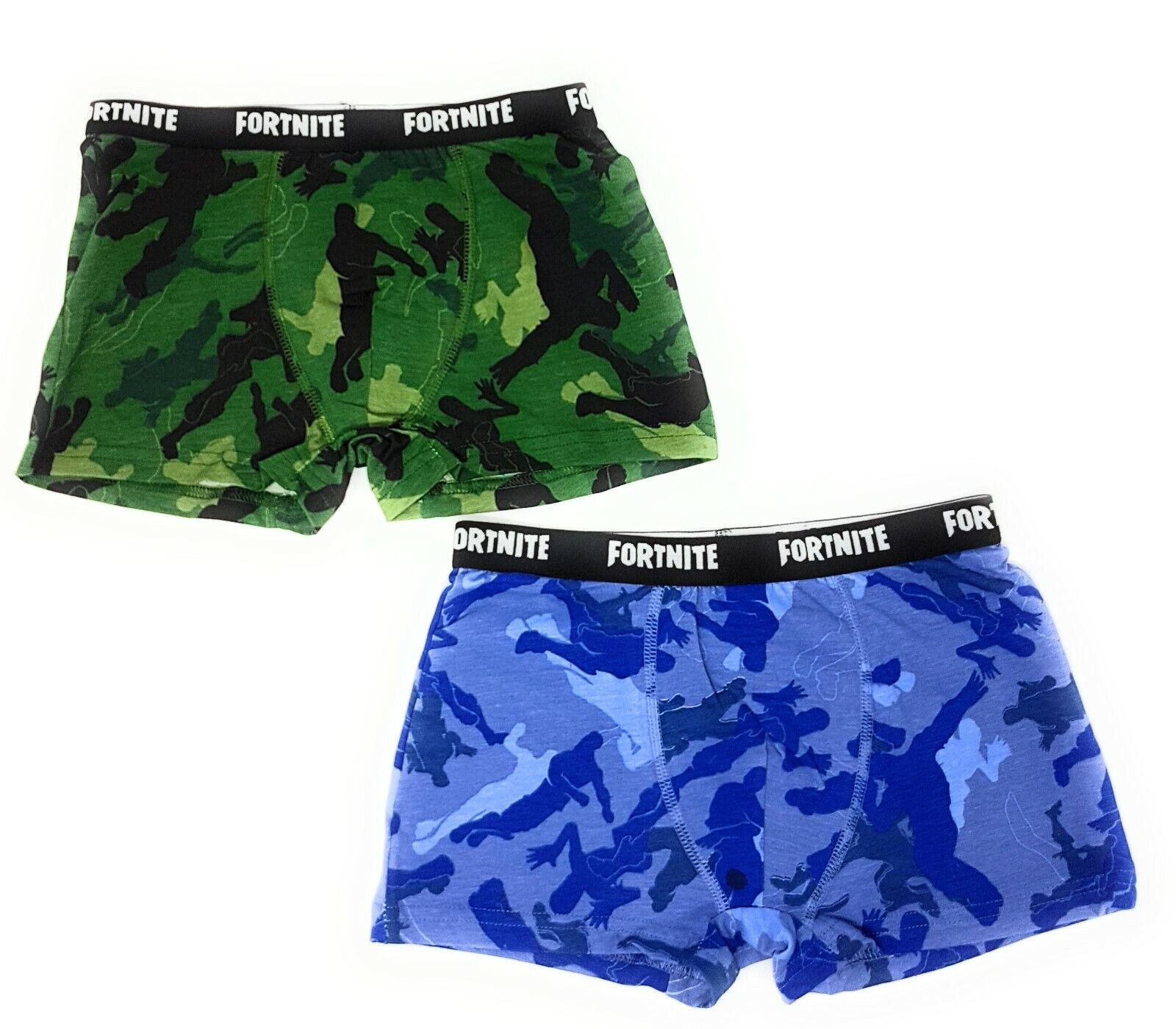 Fortnite Jungen Boxershorts Unterwäsche Unterhosen