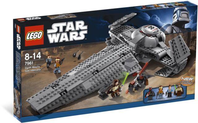LEGO® Star Wars® Darth Maul's Sith Infiltrator Building Set 7961 NEW NIB Retired