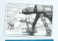 2015 Star Wars Illustrated Empire Strikes back panorama sketch Mike Babinski (b)