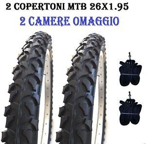 2-Copertoni-Bici-MTB-26-Per-Bicicletta-Mountain-Bike-26x1-95-Gomme-Pneumatici