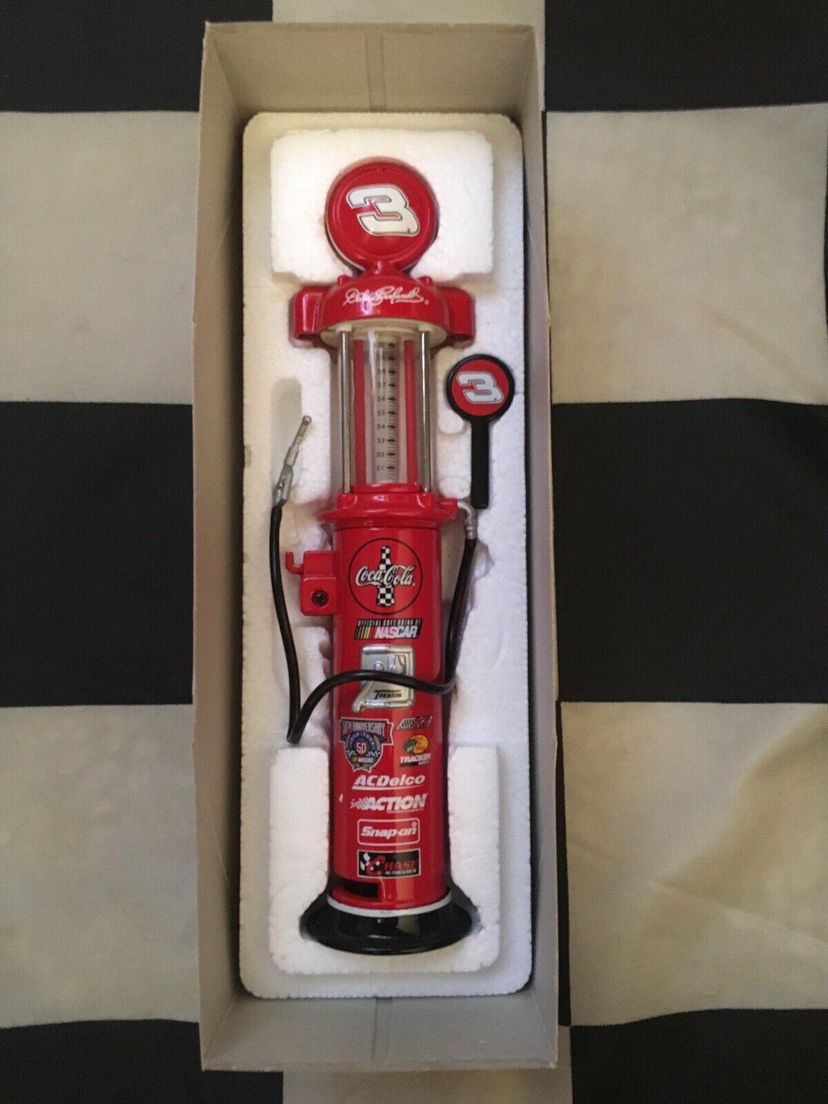 Dale Earnhardt  3 Coca Cola 1998 Action 1 16 Scale Gas Pump