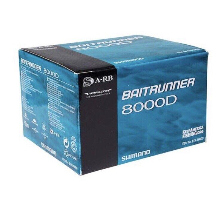 Shimano Baitrunner D Saltwater Reel, Gear Ratio 4.8:1, 21.7 oz. for sale  online | eBay