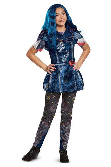 disguise disney descendants 2 evie classic movie child halloween costume size s